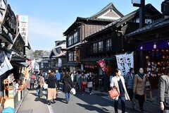 成田山に向かう参道の様子2。平日でも観光客で賑わっています。(2017-01-30,共用部,ENVIRONMENT,1F)