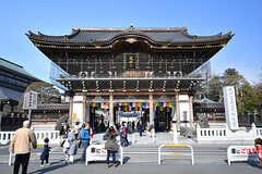 成田山総門の様子。(2017-01-30,共用部,ENVIRONMENT,1F)