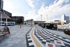 JR・成田駅の様子。(2017-01-30,共用部,ENVIRONMENT,1F)