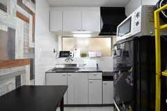 キッチンの様子。(2020-02-19,共用部,KITCHEN,1F)
