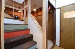 階段の様子。(2015-10-01,共用部,OTHER,1F)