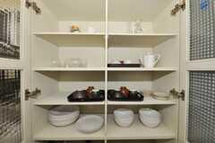 食器棚の様子。(2009-11-10,共用部,OTHER,1F)
