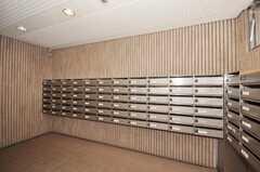 マンションのポストの様子。(2009-11-10,共用部,OTHER,1F)