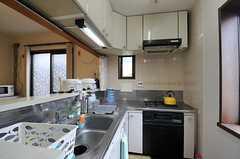 キッチンの様子。(2013-07-26,共用部,KITCHEN,1F)