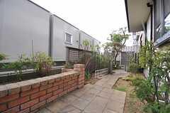 庭の様子。(2013-07-26,共用部,OTHER,1F)