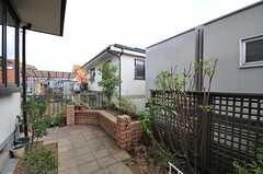 庭の様子2。(2013-07-26,共用部,OTHER,1F)