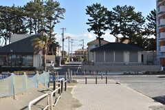 内房線・館山駅周辺の北条海岸周辺の様子。(2017-12-12,共用部,ENVIRONMENT,1F)
