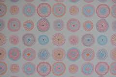 可愛らしい壁紙です。(2020-03-03,共用部,LIVINGROOM,1F)