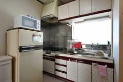 キッチンの様子2。(2020-03-03,共用部,KITCHEN,2F)