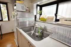 シンクの様子。食器洗機もある。(2009-06-12,共用部,OTHER,1F)