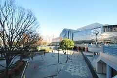 JR京葉線・新浦安駅前の様子。(2012-12-10,共用部,ENVIRONMENT,1F)