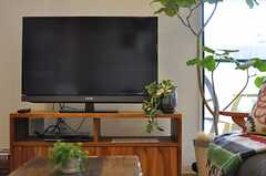 TVの様子。(2013-07-09,共用部,TV,1F)