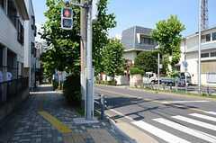 シェアハウスから、東京メトロ東西線・浦安駅までの道のりの様子。(2013-07-09,共用部,ENVIRONMENT,1F)
