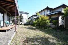 庭の様子。(2021-04-20,共用部,OTHER,1F)