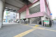 東葉高速鉄道・村上駅の様子。(2017-04-19,共用部,ENVIRONMENT,1F)