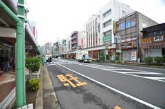 駅前の商店街の様子。(2015-11-10,共用部,ENVIRONMENT,1F)