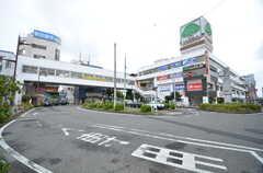 京成線・八千代台駅前の様子。ショッピングセンター・ユアエルムは駅直結です。(2015-11-10,共用部,ENVIRONMENT,1F)
