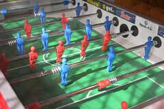 サッカーゲームが設置されています。(2017-02-06,共用部,LIVINGROOM,1F)