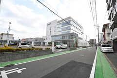 近所には大きな病院があります。(2017-02-06,共用部,ENVIRONMENT,1F)