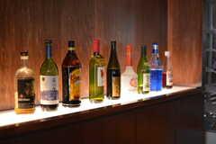 続々とお酒が増えている様子。(2016-07-05,共用部,LIVINGROOM,1F)
