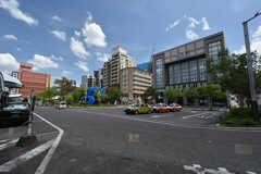 福岡空港線・姪浜駅前の様子。(2016-07-05,共用部,ENVIRONMENT,1F)