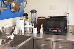 キッチン家電はこちらにもまとまっています。(2016-08-02,共用部,KITCHEN,1F)
