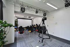 撮影スペースの様子。(2016-08-02,共用部,OTHER,1F)