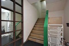階段の様子。(2016-08-02,共用部,OTHER,1F)