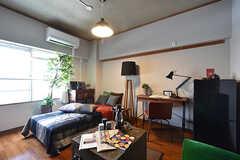 専有部の様子。モデルルームです。(206号室)(2016-08-02,専有部,ROOM,2F)