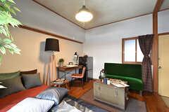 専有部の様子2。モデルルームです。(206号室)(2016-08-02,専有部,ROOM,2F)