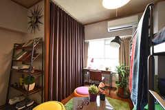 ドミトリーの様子3。モデルルームです。(208号室)(2016-08-02,専有部,ROOM,2F)