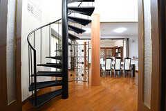 階段の様子。(2017-02-06,共用部,OTHER,1F)