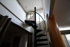 階段の様子2。(2017-02-06,共用部,OTHER,1F)