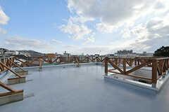 屋上の様子2。(2017-02-06,共用部,OTHER,2F)