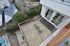 屋上から見たテラスの様子。(2017-02-06,共用部,OTHER,2F)