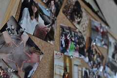 コミュニケーション・ボードにも写真。(2011-03-26,共用部,OTHER,3F)
