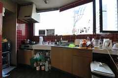 シェアハウスのキッチンの様子。(2011-03-26,共用部,KITCHEN,3F)