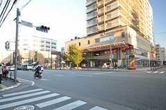 福岡市営地下鉄七隈線・薬院大通駅前の様子。(2014-10-15,共用部,ENVIRONMENT,1F)