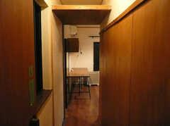 203号室の様子。 ※事業者様提供素材(2015-12-05,専有部,ROOM,2F)