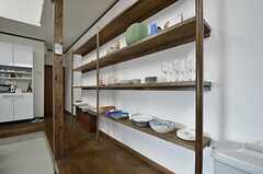 食器棚の様子。(2015-11-05,共用部,OTHER,1F)