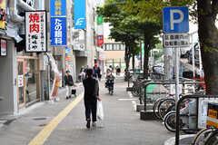 福岡市営地下鉄空港線・西新駅前の様子2。(2019-10-15,共用部,ENVIRONMENT,1F)