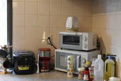 キッチン家電の様子。(2020-12-01,共用部,KITCHEN,2F)