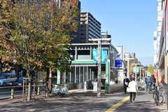 地下鉄七隈線・渡辺通駅の様子。(2020-12-01,共用部,ENVIRONMENT,1F)