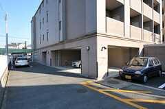 駐車場の様子。(2011-11-26,共用部,GARAGE,1F)