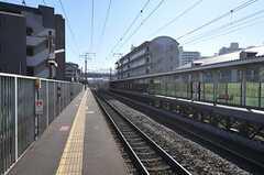 JR鹿児島本線・笹原駅のホーム。(2011-11-26,共用部,ENVIRONMENT,1F)