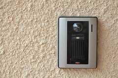 カメラ付きインターホンの様子。(2012-03-16,周辺環境,ENTRANCE,1F)