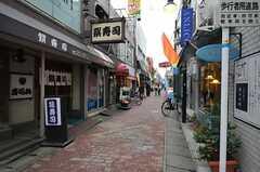 西鉄天神大牟田線・井尻駅前の商店街の様子。(2012-03-16,共用部,ENVIRONMENT,1F)