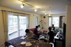 オープンハウスの様子。(2012-07-05,共用部,LIVINGROOM,1F)