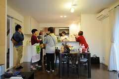 パーティーの様子。(2013-06-02,共用部,PARTY,1F)