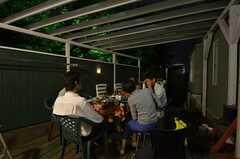 夜食会の様子。(2014-06-04,共用部,PARTY,1F)